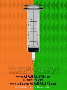 416film Time Juice Poster